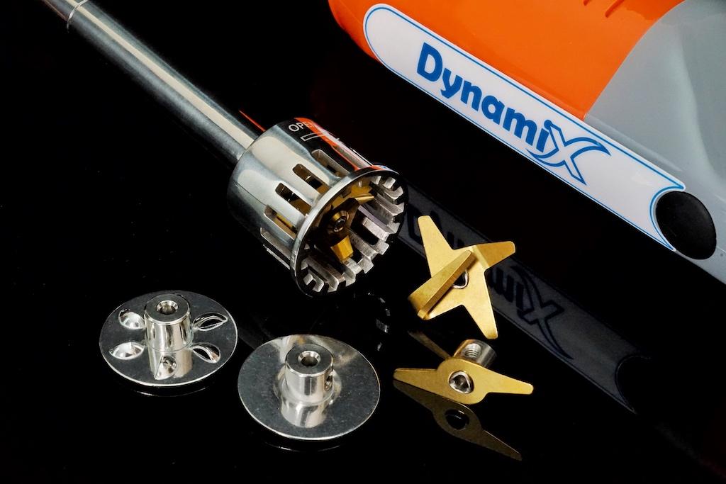 Das vierteilige Messerset für den professionellen Einsatz: Standardmesser, Emulsionsmesser, Quirlscheibe und die Schlagscheibe