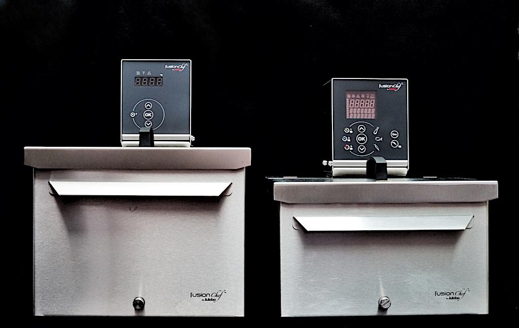 fusionchef by JULABO: Die Sous-Vide Garer erlaubt eine Temperaturkonstanz von bis zu ±0,01 °C