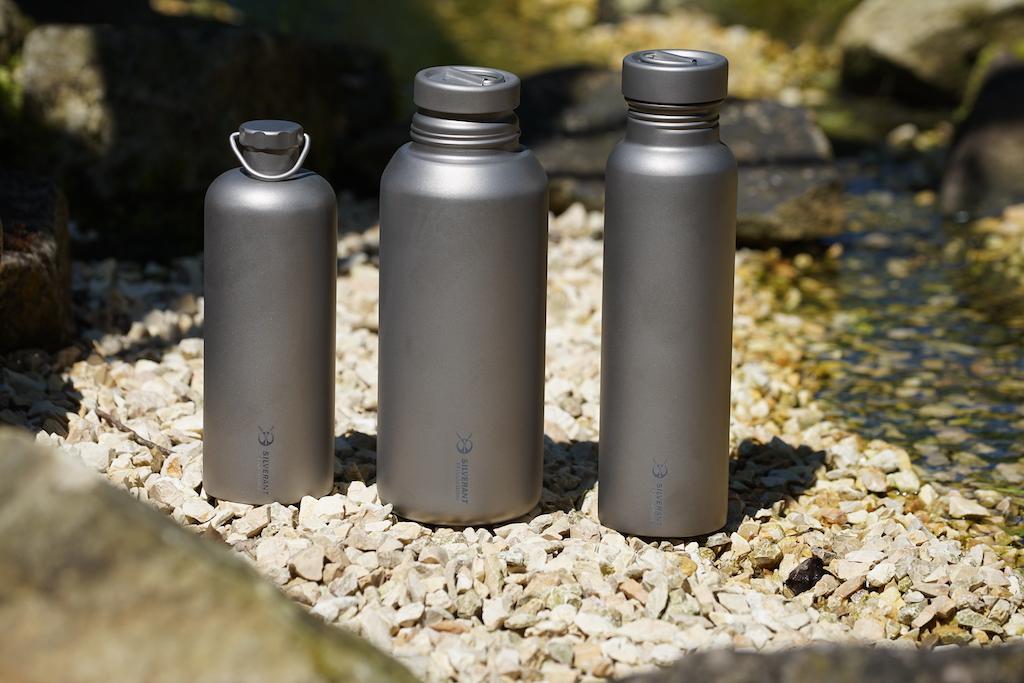 Titan zählt zu den langlebigsten Materialien - bei SilverAnt wird Titan für die Produktion von erstklassigen Trinkflaschen genutzt