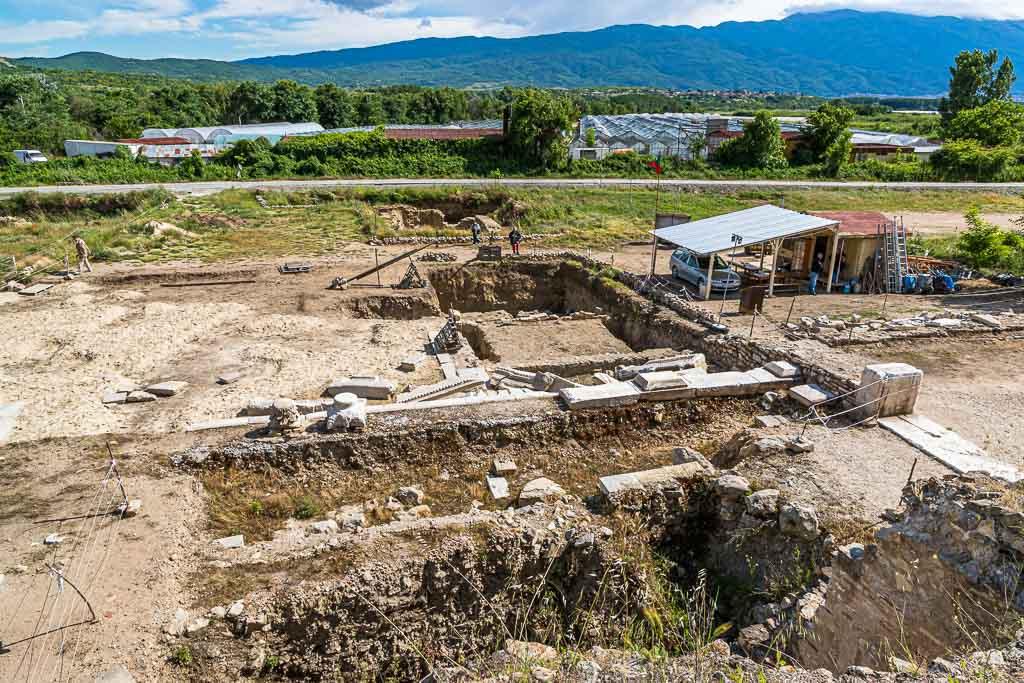 Die Ausgrabungsstätte der antiken Stadt Heraclea Sintica / © FrontRowSociety.net, Foto: Georg Berg