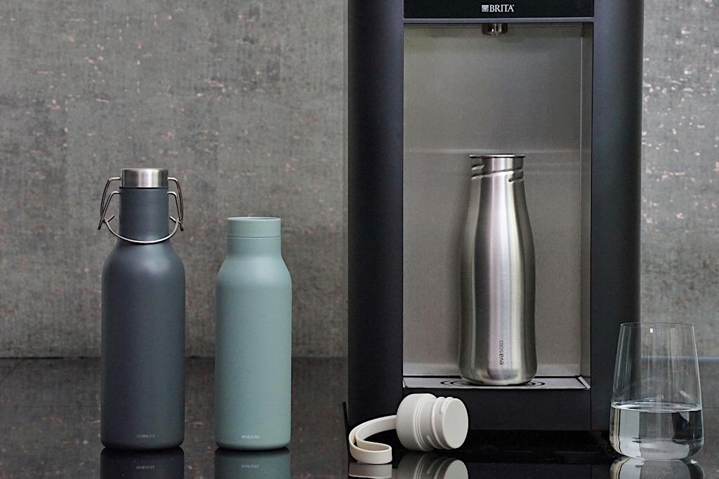 Stilvolle Trinkflaschen zeichnet das Design von EVA SOLO aus