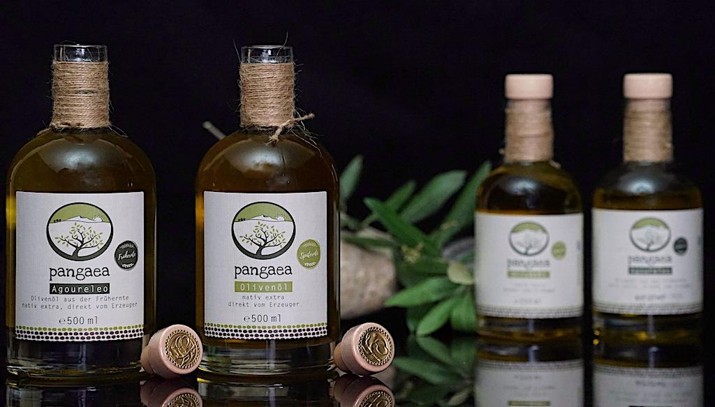 Pangaea Olivenöl – von Hand gepflückt direkt in die Flasche