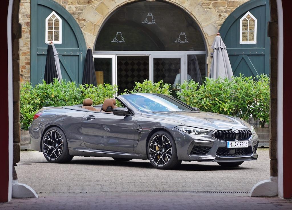 BMW M8 Cabrio: Eine elegante Gesamterscheinung