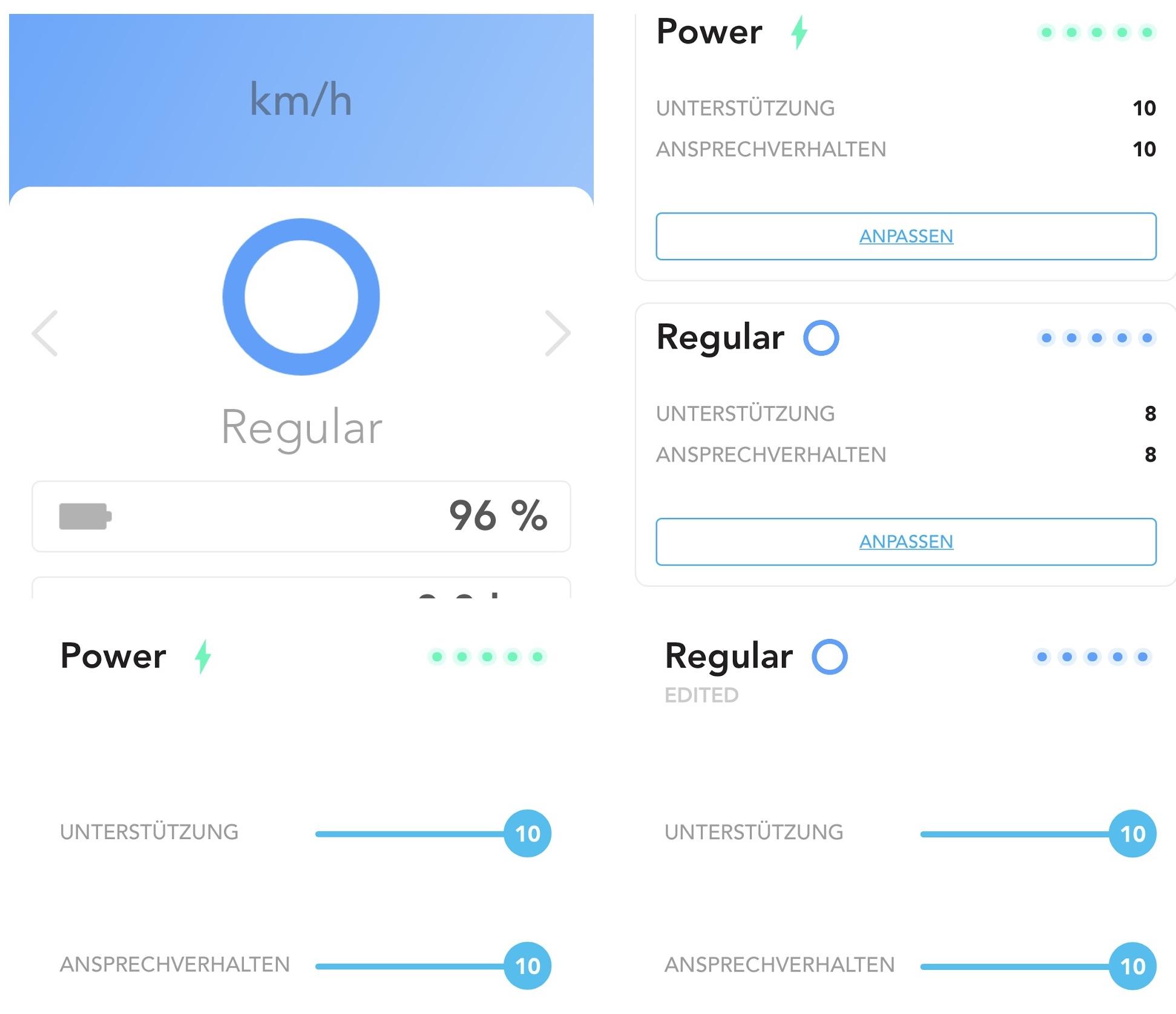 Mit der COBOC E-Bike App können Informationen abgerufen oder verschiedene Einstellungen vorgenommen werden