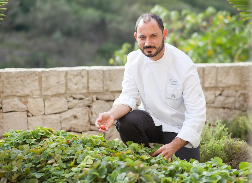 SternekochVincenzo Candiano führt das Restaurant Locanda DON SERAFINO in Ragusa/Sizilien