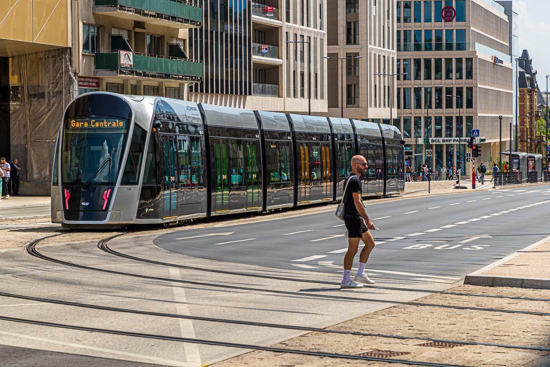 Wie in ganz Luxemburg sind seit Ende 2019 die Nutzung von Straßenbahn und Zügen kostenlos / © FrontRowSociety.net, Foto: Georg Berg