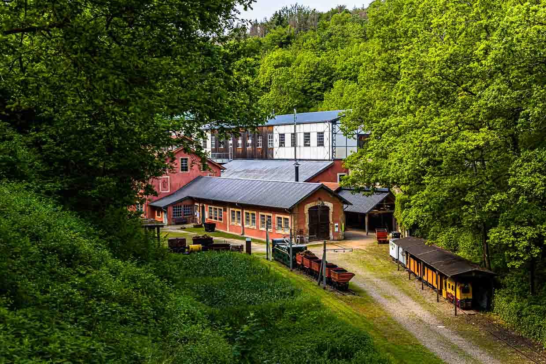 Im Grubengebiet Katzenberg ist die ehemalige Eisenbahnstation heute ein Museum / © FrontRowSociety.net, Foto: Georg Berg