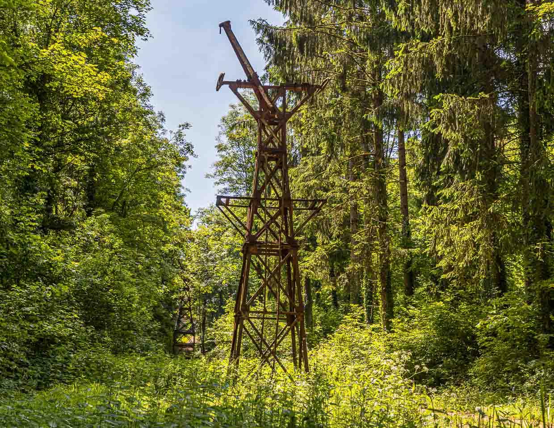 Auf dem Minett-Trail stößt man immer wieder auf Spuren des Industriezeitalters / © FrontRowSociety.net, Foto: Georg Berg