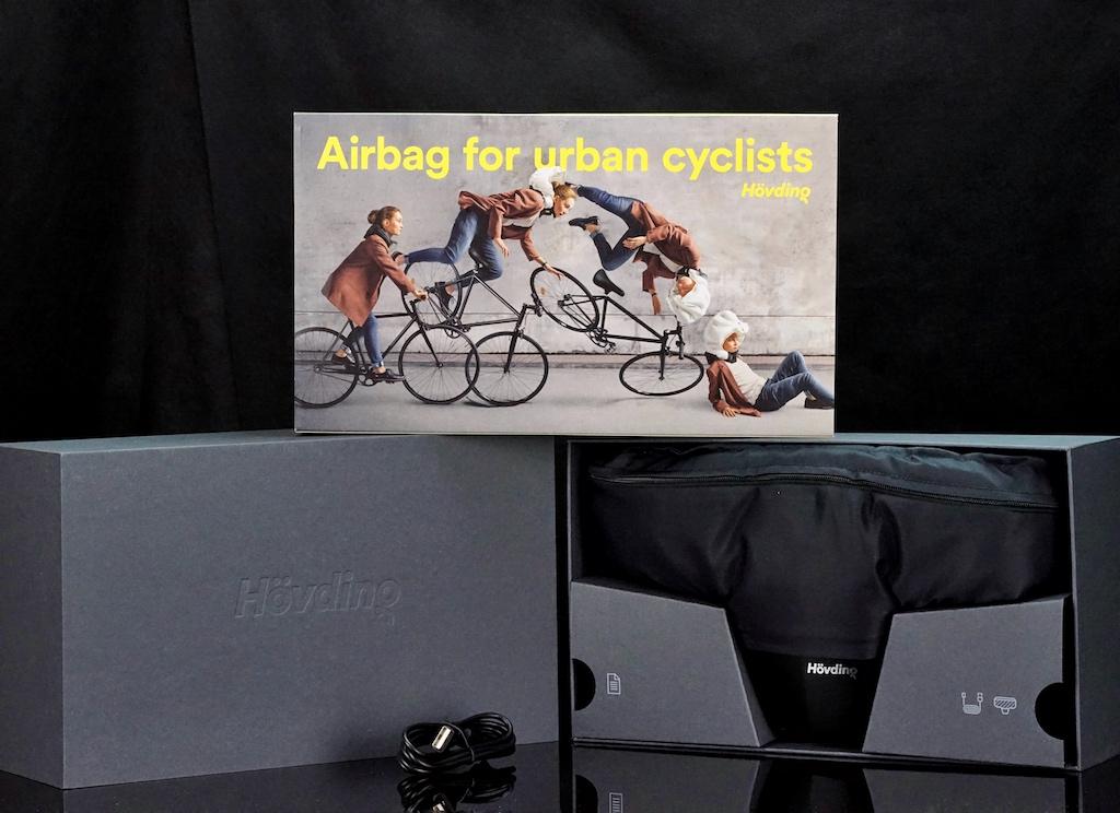 Sicherer als jeder Fahrradhelm - der Airbag-Kopfschutz von Hövding